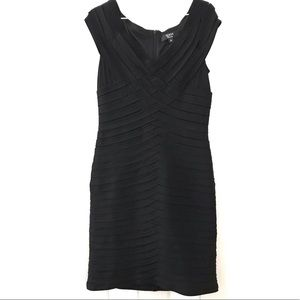 Tadashi Collection Criss Cross Bandage Dress